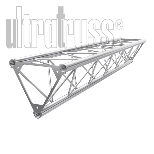 Steel Coupler For Aluminum Truss : Straight foot triangle inch aluminum truss