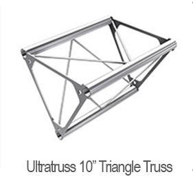 10in Triangle Truss Parts