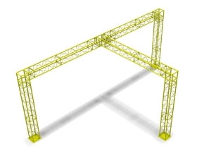 10 x 20 Truss Display Booth
