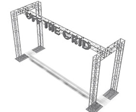 UT12 Truss Display Booth