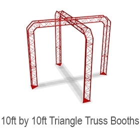 10 x 10 Truss Display Booth